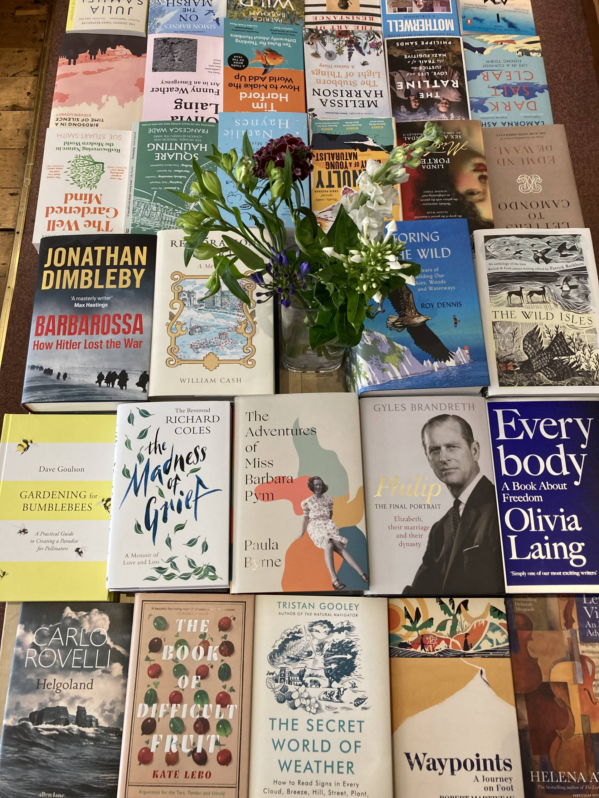 Our Non-Fiction Table